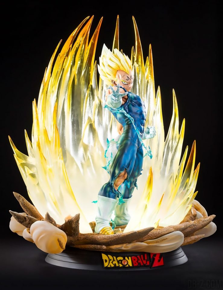 Majin Vegeta HQS Plus : La Nouvelle Statue De Tsume