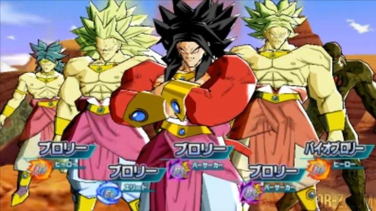 Dragon Ball Heroes - Team Broly