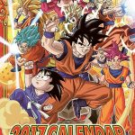 Calendrier 2017 Dragon Ball Super