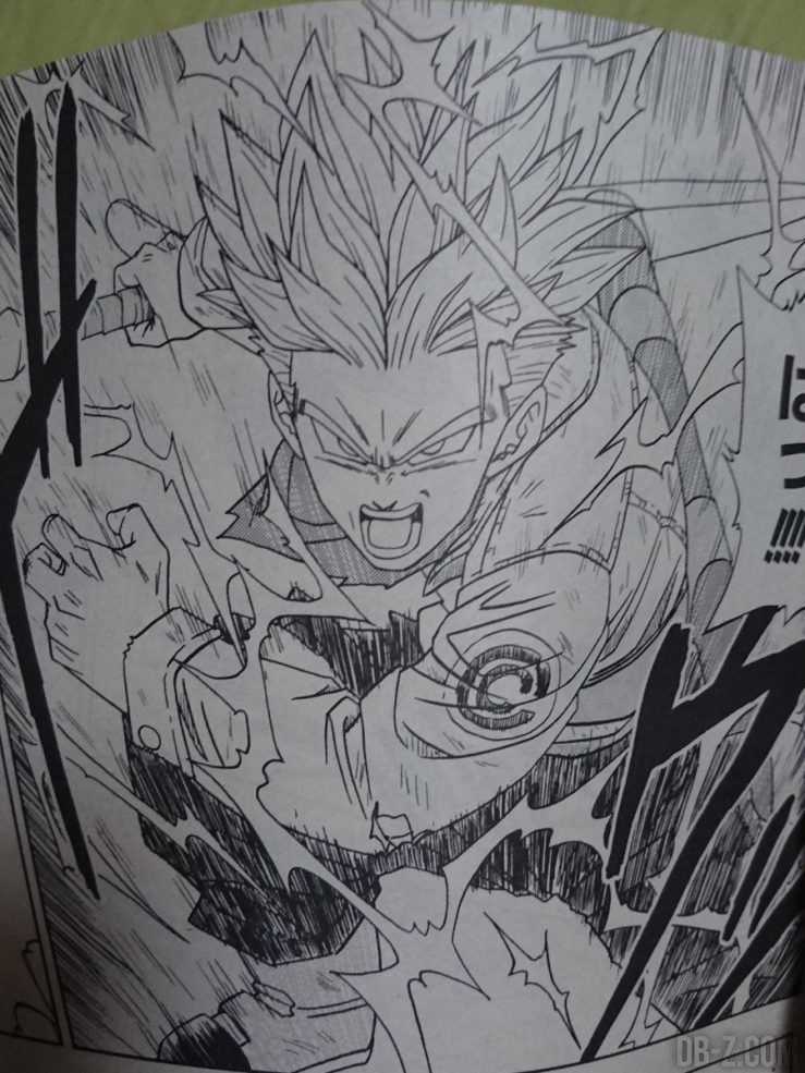 Chapitre 15 de Dragon Ball Super : Trunks