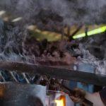 Epée de Trunks - Refroidir le métal