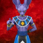 Gigantic Series Beerus (Face) 4
