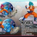 XCEED Super Saiyan God Goku vs Beerus