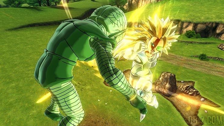 Xenoverse 2 - Avatar Super Saiyan 3 vs Saibaiman