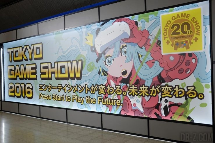 20 ans du Tokyo Game Show