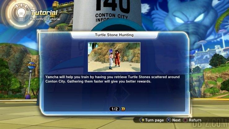 Dragon Ball Xenoverse 2 : Cherchez la pierre !