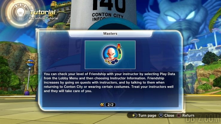 Dragon Ball Xenoverse 2 : Maitres