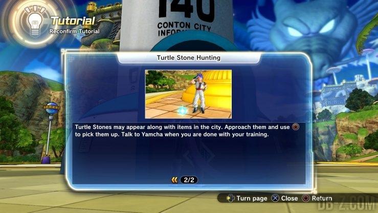 Dragon Ball Xenoverse 2 : Chasse à la pierre