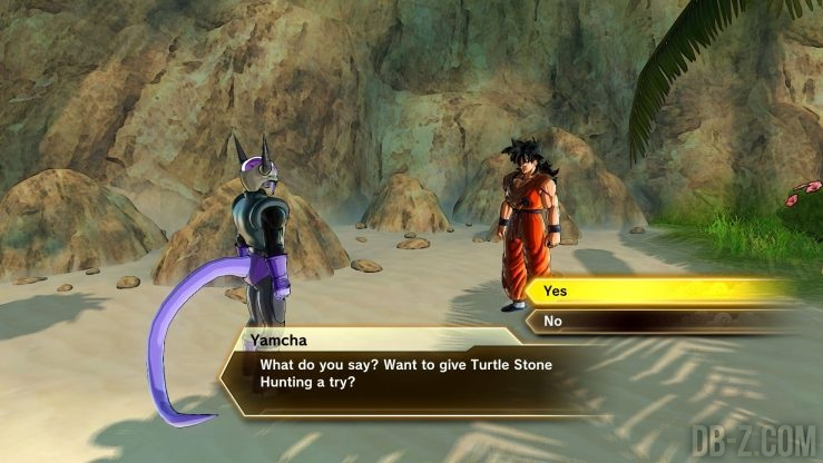 Dragon Ball Xenoverse 2 : Mission de la pierre