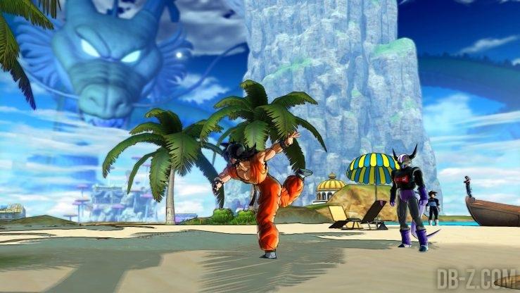 Dragon Ball Xenoverse 2 : Yamcha lance la pierre