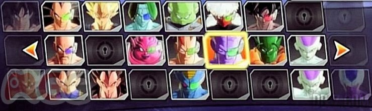 Dragon Ball Xenoverse : Roster / Liste des personnages (3)