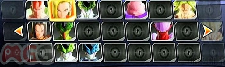 Dragon Ball Xenoverse : Roster / Liste des personnages (2)