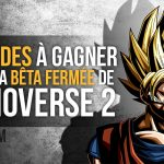 10 codes gagner beta dragon ball xenoverse 2