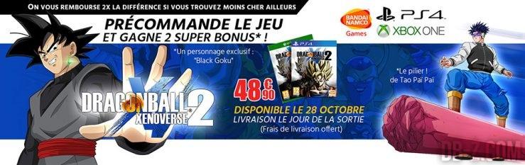 Bon Plan Dragon Ball Xenoverse 2