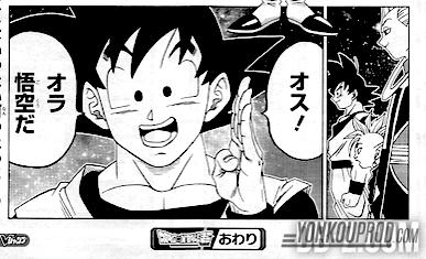 Chapitre 17 Dragon Ball Super - Goku