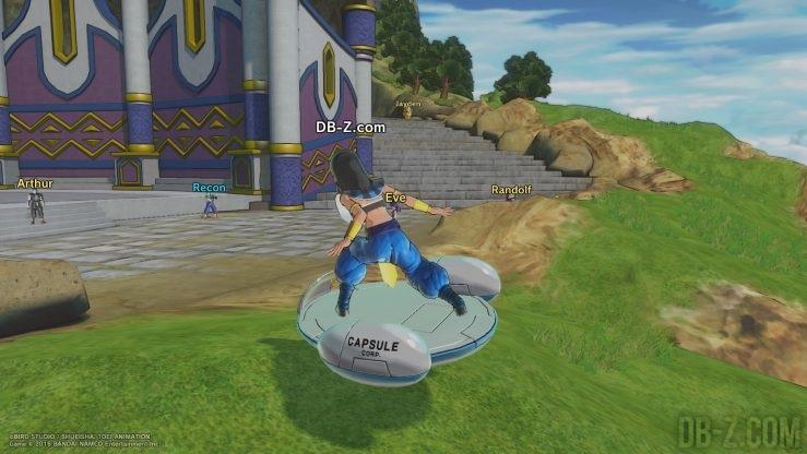 DRAGON BALL XENOVERSE 2 - Hoverboard