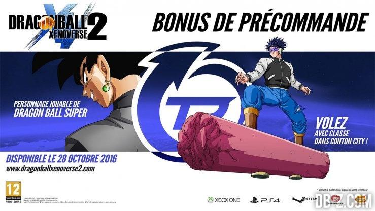 Dragon Ball Xenoverse 2 Bonus de Précommande