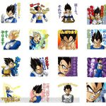 Stickers Vegeta LINE