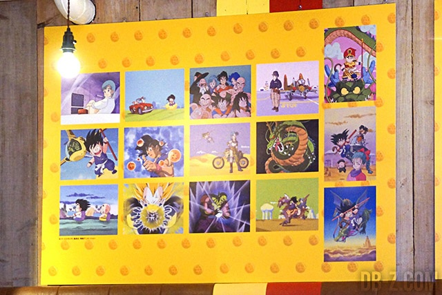 Exposition au café Dragon Ball