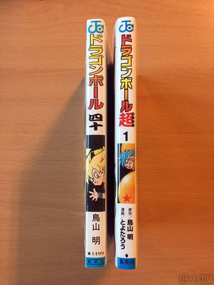 Comparaison Dragon Ball vs Dragon Ball Super