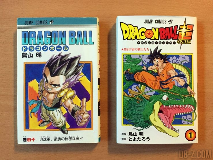 Comparaison manga Dragon Ball vs Dragon Ball Super