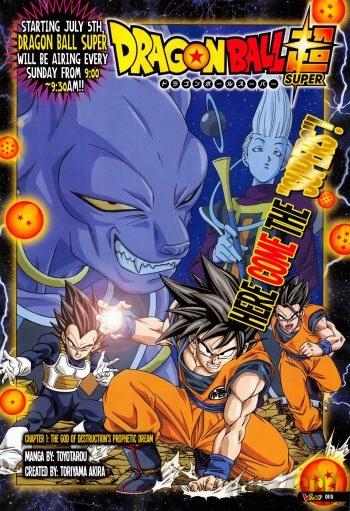 Couverture Chapitre 1 de Dragon Ball Super