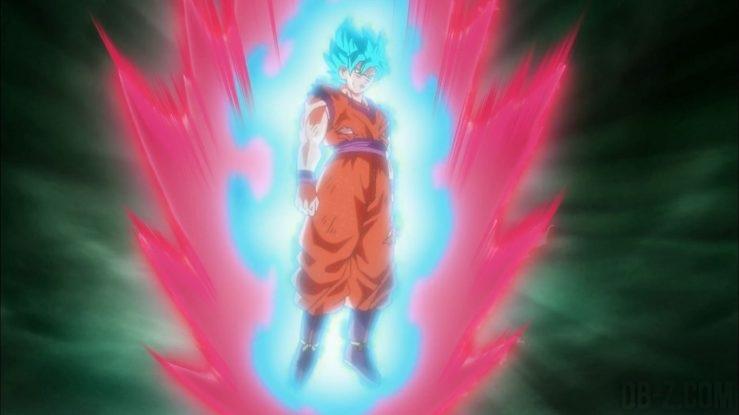 Dragon Ball Super Episode 66 - Goku SSGSS Kaioken