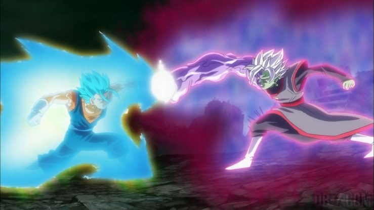 Dragon Ball Super Episode 66 - Vegetto SSGSS vs Zamasu