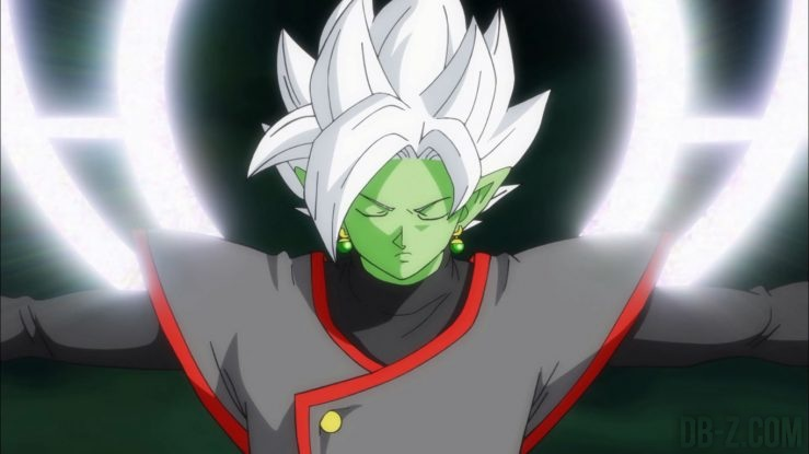 Fusion de Zamasu dans l'épisode 65 de Dragon Ball Super