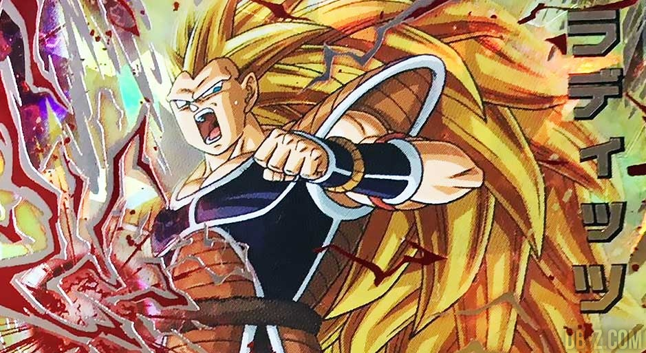Super Dragon Ball Heroes Accueille Raditz Super Saiyan 3