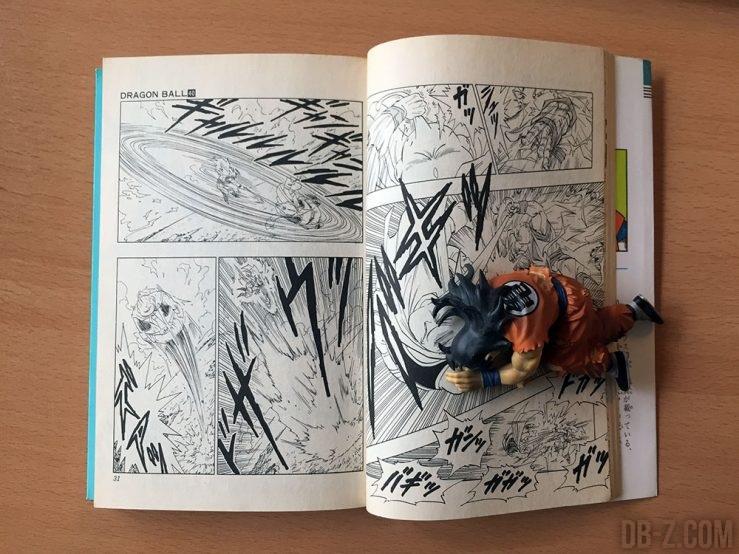 Taille du manga Dragon Ball