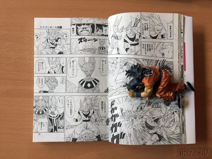 Taille du manga Dragon Ball Super