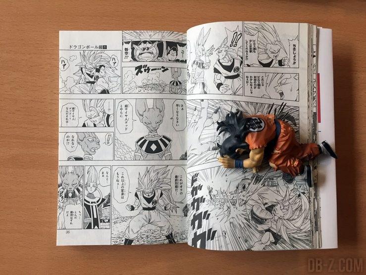 Taille du manga Dragon Ball Super