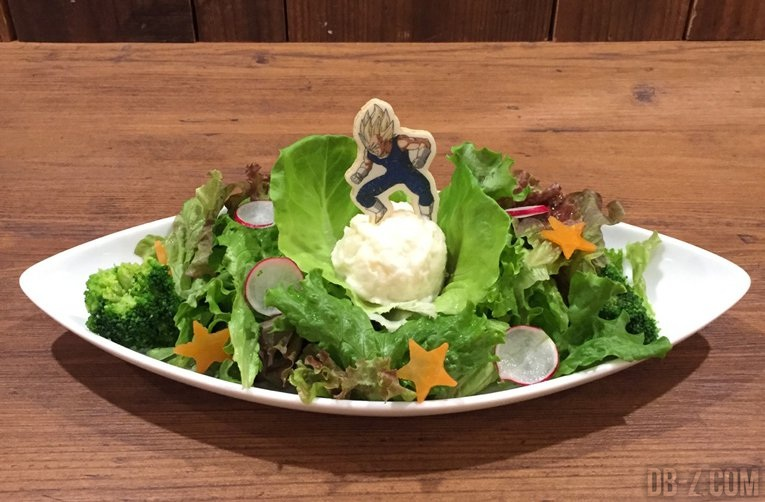 Salade Vegeta Dragon Ball