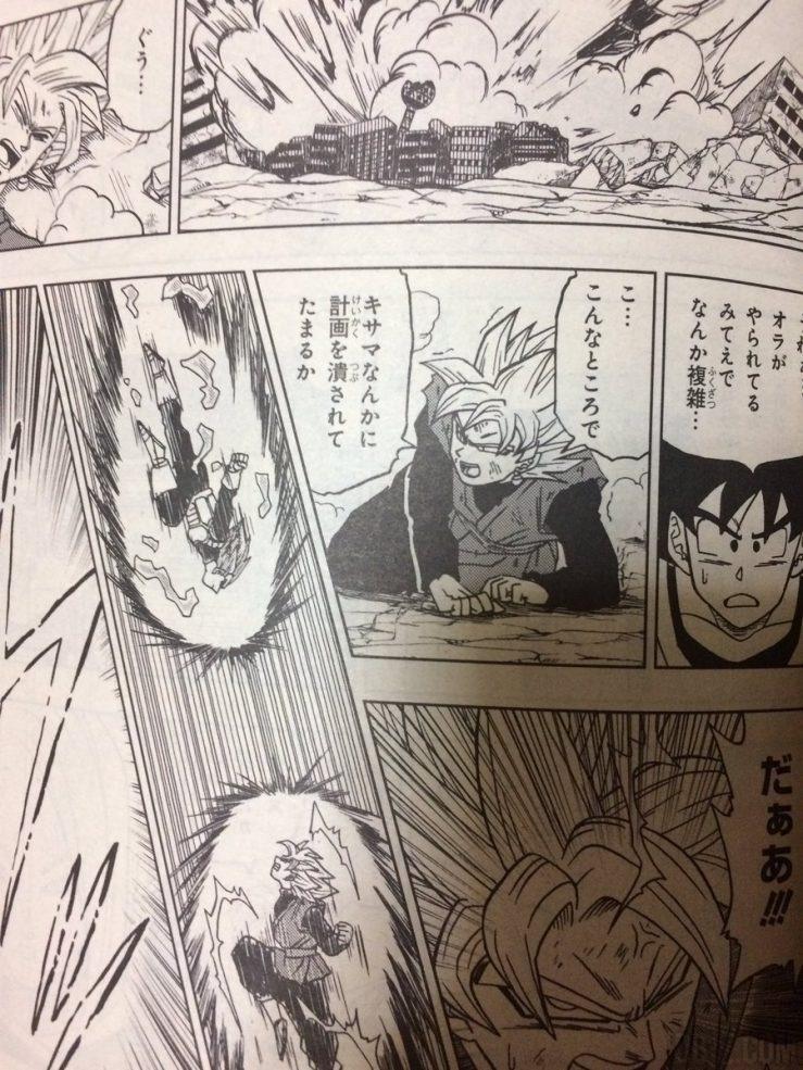 Black VS Vegeta Blue chapitre 19 Dragon Ball Super
