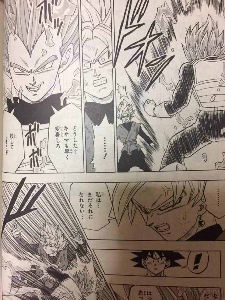 Black VS Vegeta chapitre 19 Dragon Ball Super