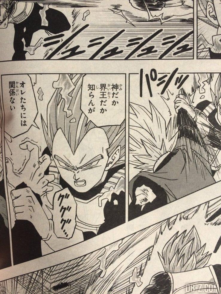 Black contre Vegeta chapitre 19 Dragon Ball Super