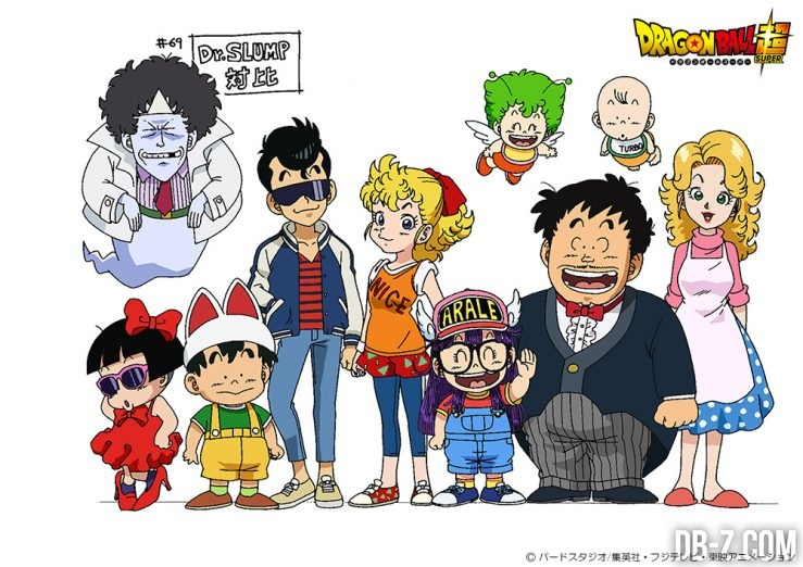 Dr. Slump dans l'épisode 69 de Dragon Ball Super