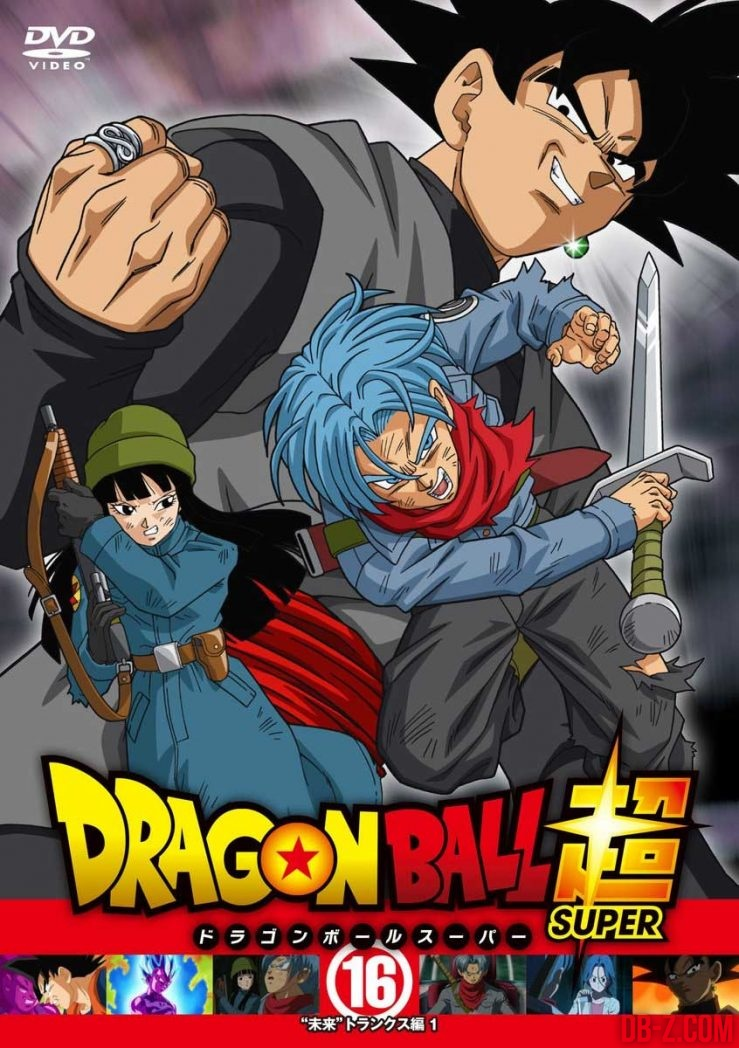 Dragon Ball Super - DVD #16 (cover)