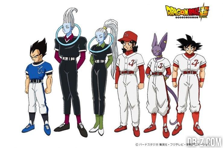 Du Baseball dans Dragon Ball Super