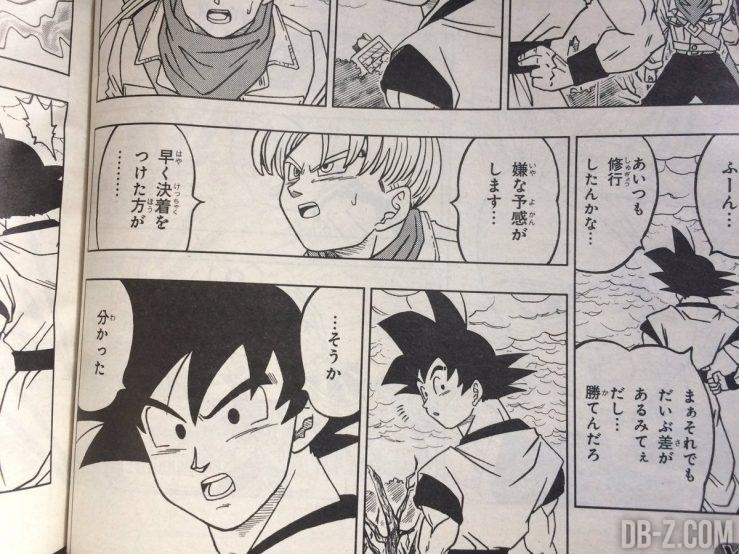Goku et Trunks chapitre 19 Dragon Ball Super