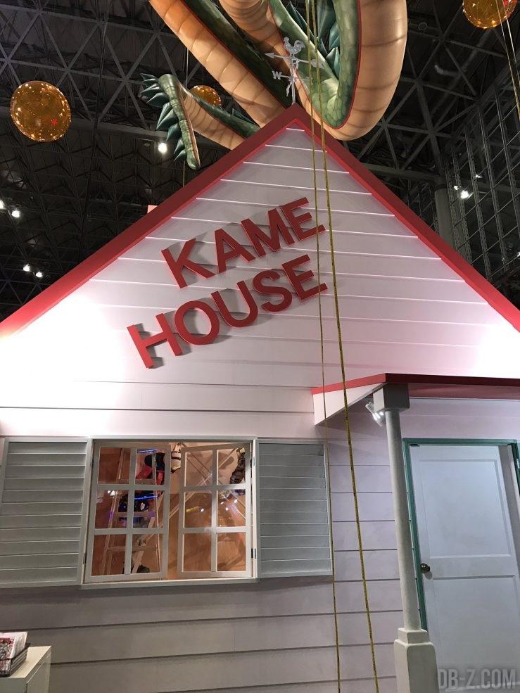 Kame House en vrai