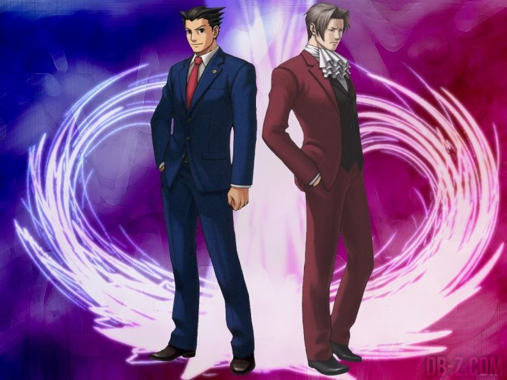 Phoenix Wright & Miles Edgeworth