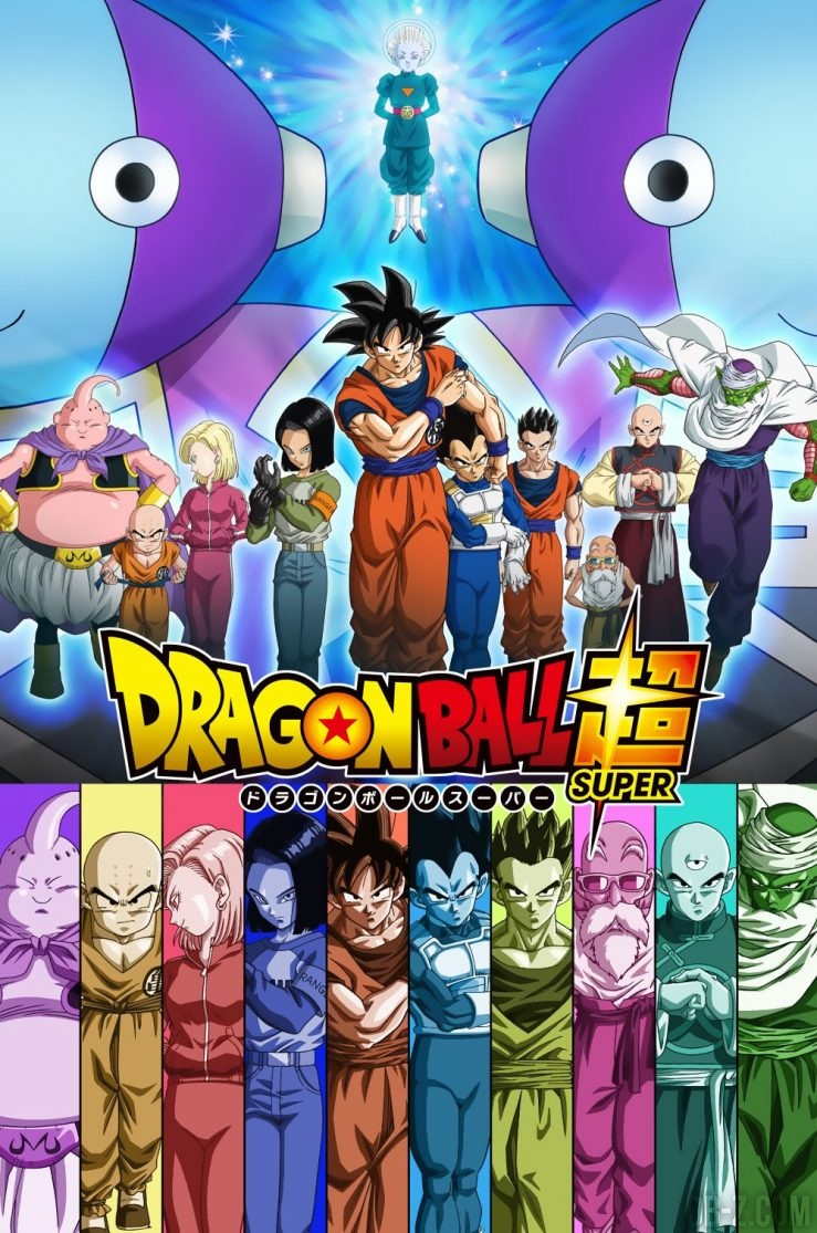 Poster Arc Survie Univers Dragon Ball Super