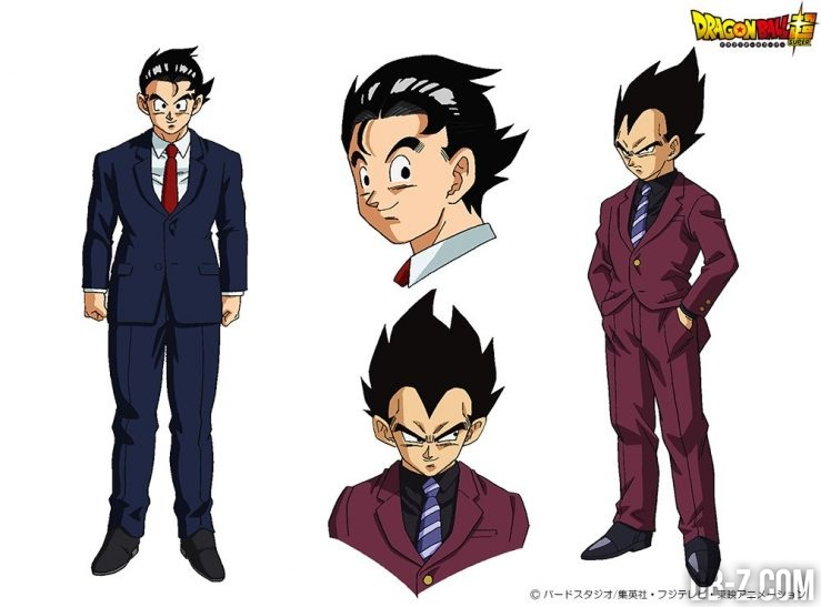 Goku & Vegeta en costume