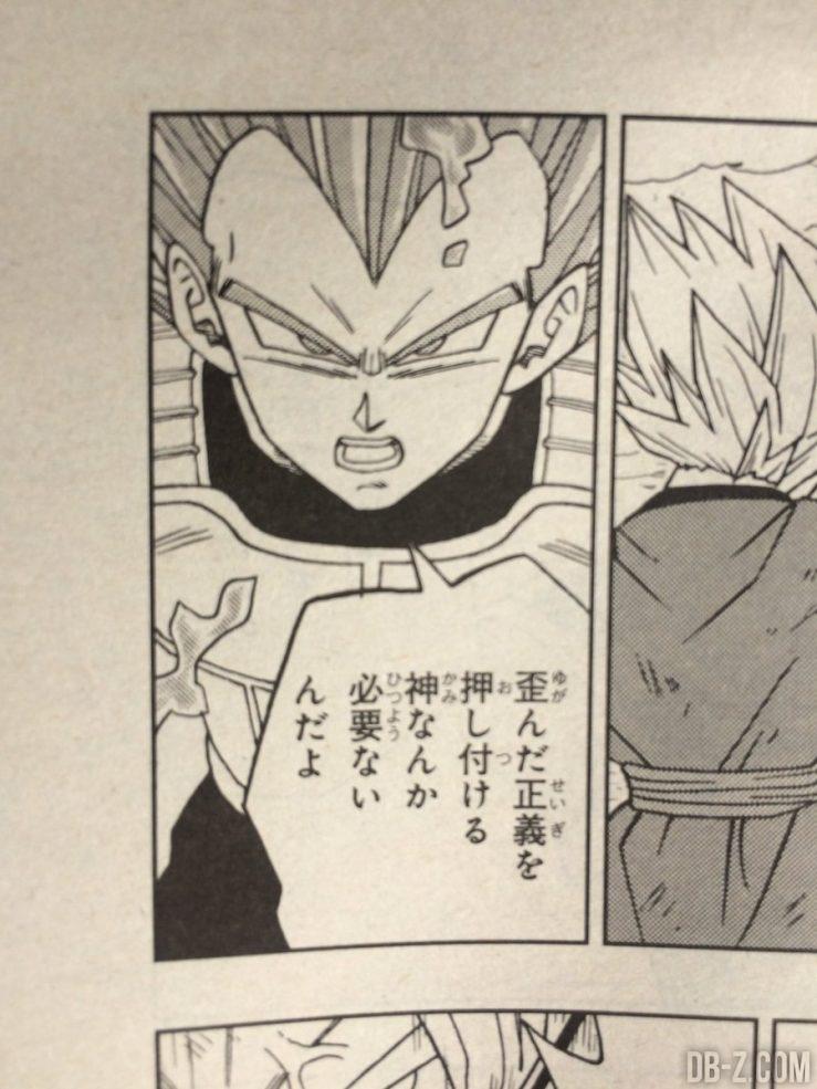 Vegeta SSB chapitre 19 Dragon Ball Super