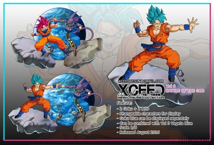 Xceed : Goku vs Beerus