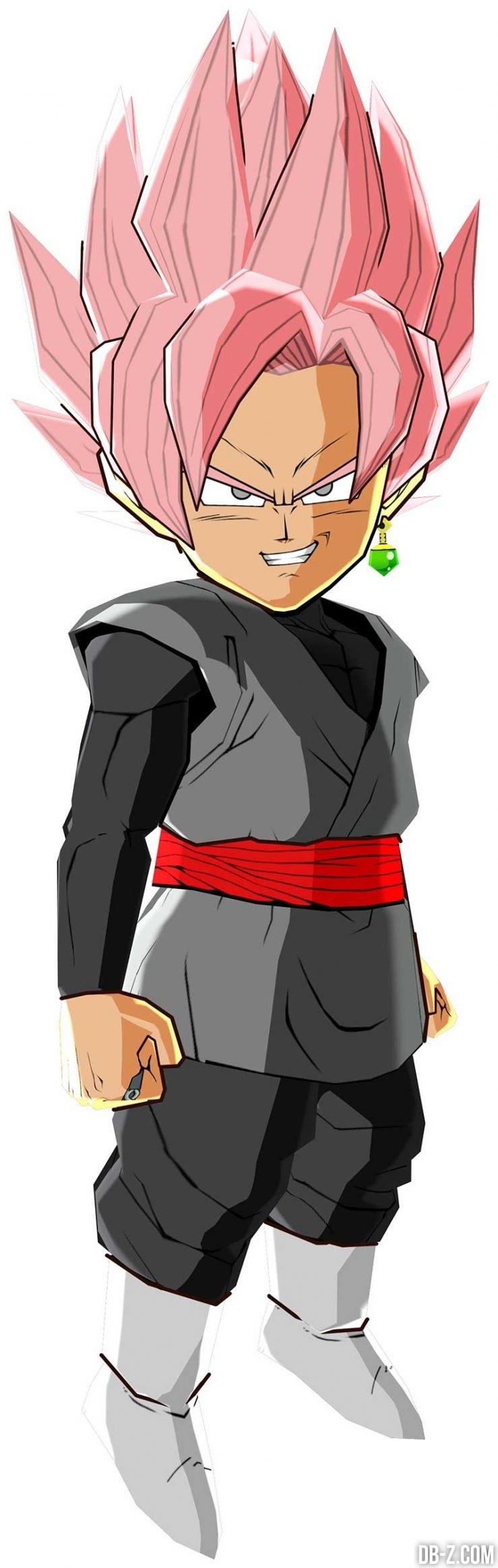 DB Fusions Goku Black SS Rosé