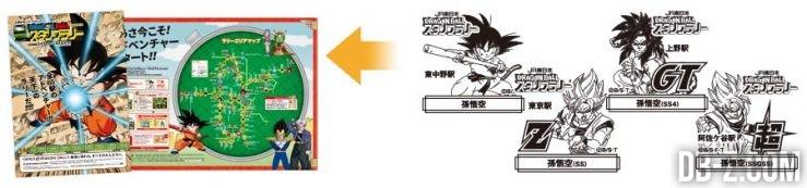 Tamons Dragon Ball, DBZ, DBGT, DBSuper