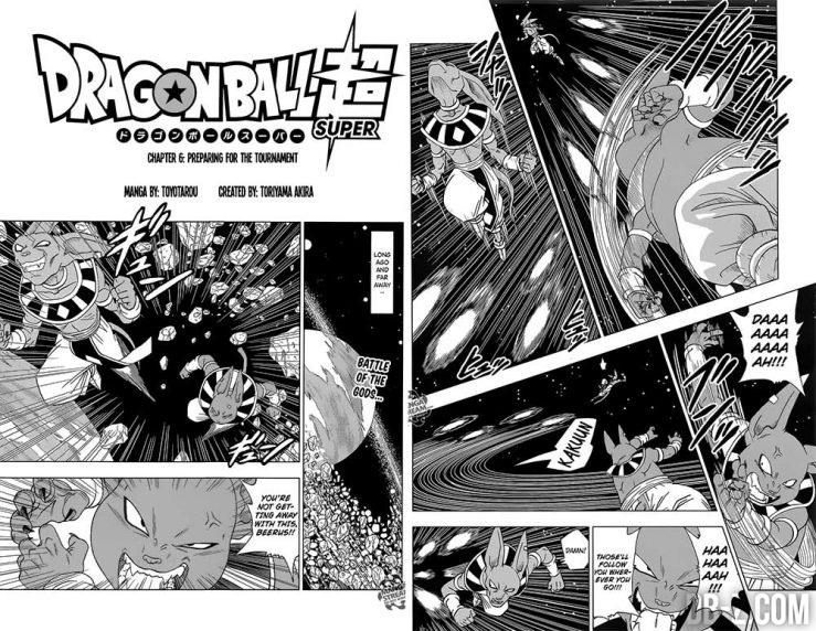 Dragon Ball Super Chapitre 6 - Attaque spéciale de Champa